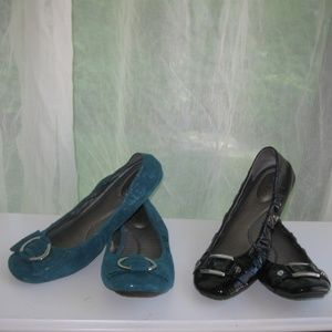 Me Too Leather Loafer Flat Shoe LOT size 10